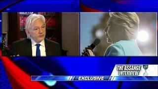 Assange on FOIA, Hillary Clinton