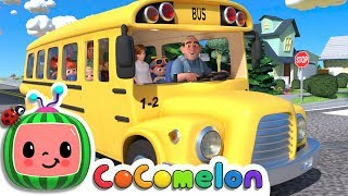 wheels on the bus cocomelon nursery rhymes kids songs