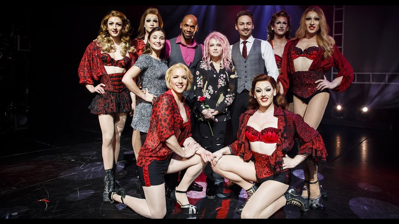 Kinky boots das musical cyndi lauper im stage for Cyndi lauper broadway kinky boots