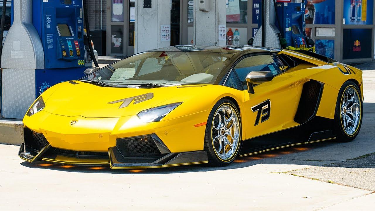 East Coast X West Coast Aventador, Yellow Lamborghini's, LOUD Urus.