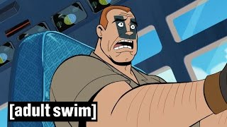 How NOT to evacuate an aircraft | The Venture Brothers Series 5 Sneak Peek | Adult Swim