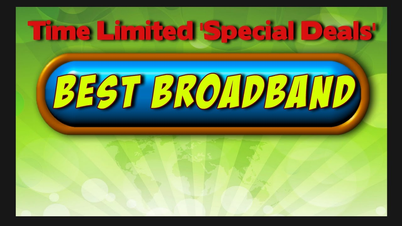 Best Broadband Internet Provider Plans Best Home