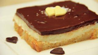 İrmikli Etimek Tatlısı Tarifi - Çikolatalı Pudingli Şerbetli Pasta