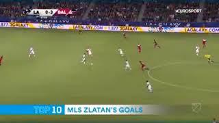"""""""TOP 10 BEST GOALS (IBRAHIMOVIC) ON MLS """""""