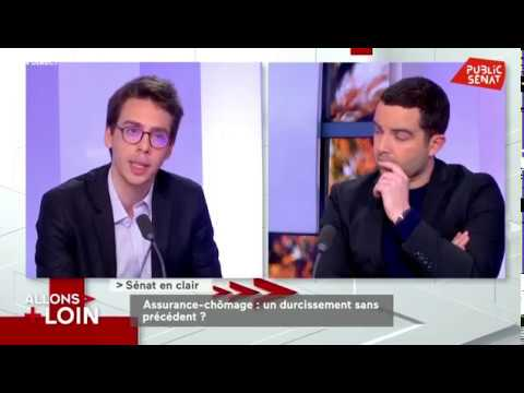 Public Senat  - Reforme assurance chômage  - 01.11.19