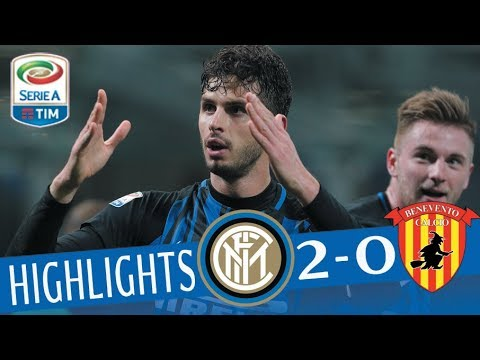 Inter - Benevento 2-0 - Highlights - Giornata 26 - Serie A TIM 2017/18