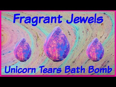 Fragrant Jewels Ring Reveal - Unicorn Tears Bath Bomb!