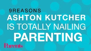 9 Reasons Ashton Kutcher Is Totally Nailing Parenting   Parents