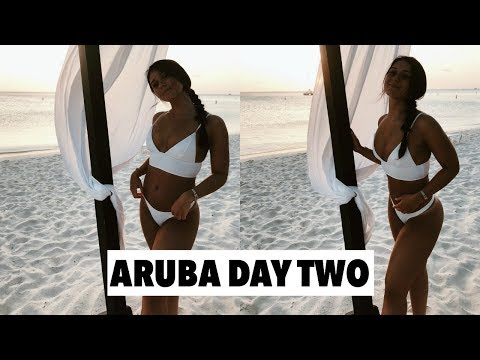 ARUBA DAY 2 | meeting subscribers, dinner at madame janine's