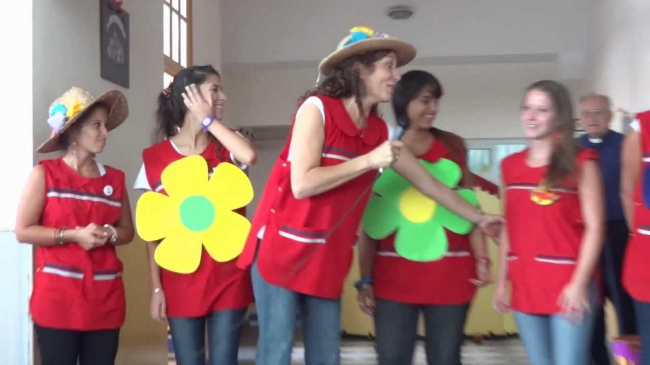 Primer dia de clases 2012 youtube for Actividades para el primer dia de clases en el jardin