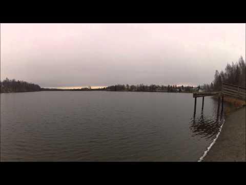 JEWEL LAKE PARK - Dawn - Anchorage Alaska - 1 Minute Video