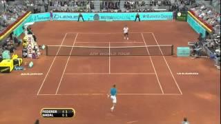 Madrid 2010 Final - Roger Federer vs Rafael Nadal  Highlights