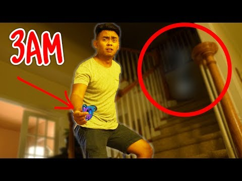 Thumbnail: DO NOT SPIN FIDGET SPINNERS AT 3AM! (GHOST)