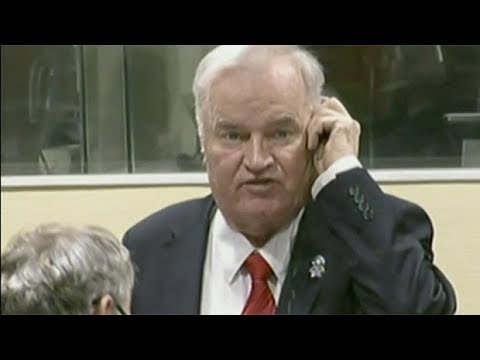 Ratko Mladic disrupts court with angry outburst, gets life sentence for war crimes