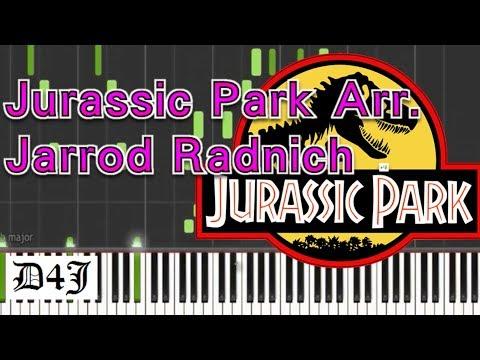Piano Sheet│Jurassic Park Arr. by Jarrod Radnich│侏羅紀公園