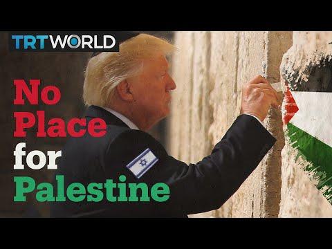 Trump recognises Israel but not Palestine