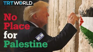 Trump recognises Israel but not Palestine