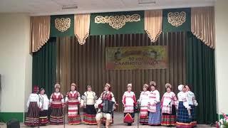 Я на печке молотила исполняет Народныи ансамбль Русские узоры