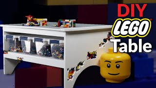 ULTIMATE DIY LEGO Table Build // Woodworking with LEGO