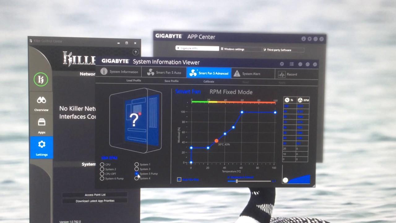 Gigabyte APP CENTER - Smart Fan 5 overview