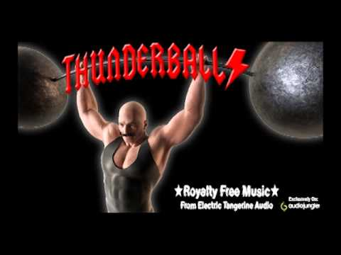 Thunderballs - Royalty Free Music  - Background  - Classic AC/DC  Hard Rock Metal Download MP3 WAV