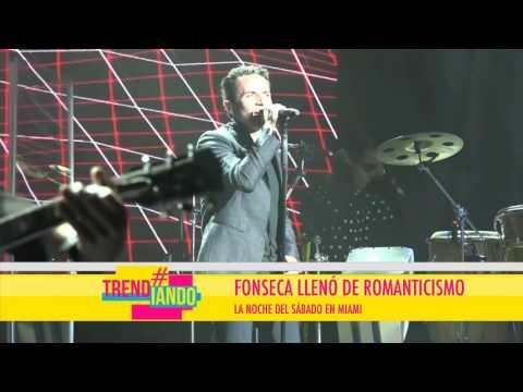 Fonseca Llenó Las Calles De Miami Con Su Música