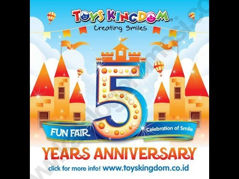 5th anniversary of Toys Kingdom with Santie Sitohang Vocal Studio