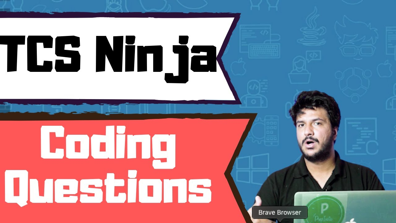 TCS Ninja Coding Questions and Answers » PREP INSTA