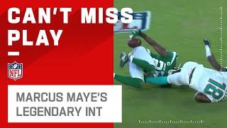 Marcus Maye's Legendary Butt INT!