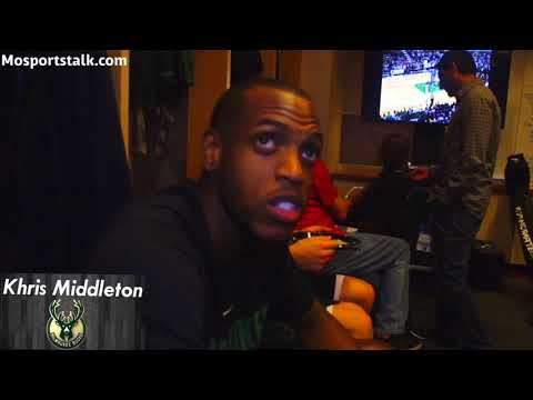Khris Middleton interview
