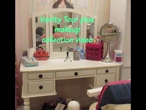 Vanity Tour plus makeup collection video 2015