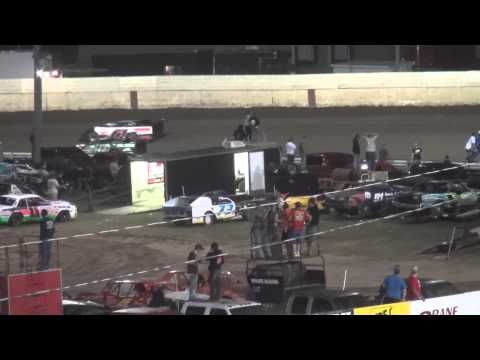 Farley Speedway IMCA Late Model feature 8/15/14