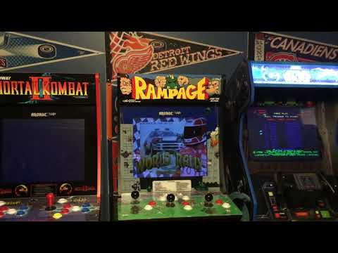 My Arcade1Up Collection from Jeff Flanagan