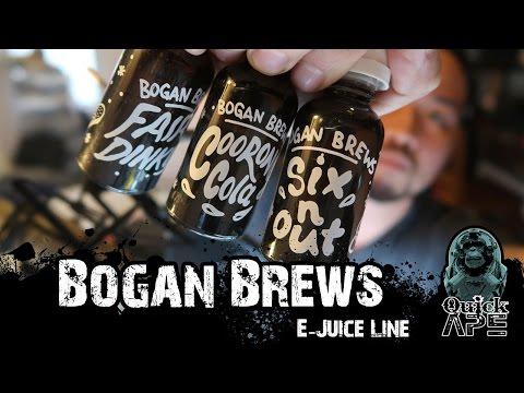 Bogan Brews E-Juice Review (AUSTRALIAN JUICE)