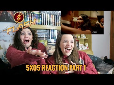 THE FLASH 5X05 ALL DOLLD UP REACTION PART 1