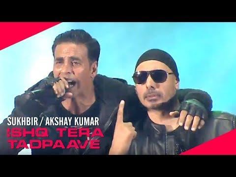 Sukhbir - Akshay Kumar | Ishq Tera Tadpaave | DABANGG Tour Hong Kong 2017