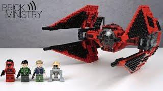 Красный Барон Первого Ордена ● LEGO Звездные Войны 75240 [Обзор]