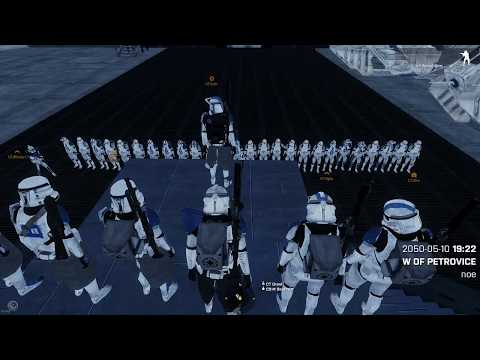 "Star Wars Arma 3 501st Operation Survival ""Working Acclamator, Defend to The Last Man"""