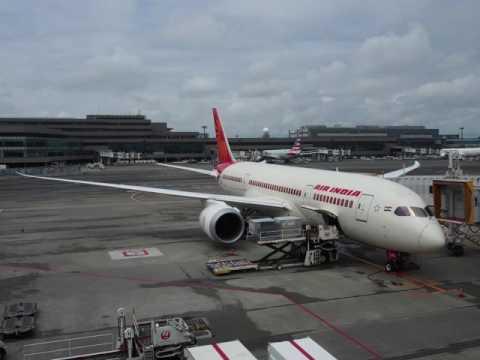 2016/07/27 Air India 307 Annoucement: Tokyo Narita - Delhi