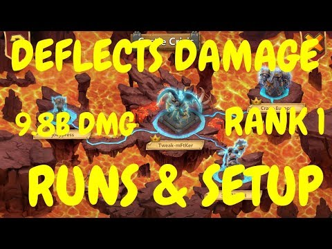 Deflects Damage Archdemon L Rank 1 L 9.8B Damage L Castle Clash