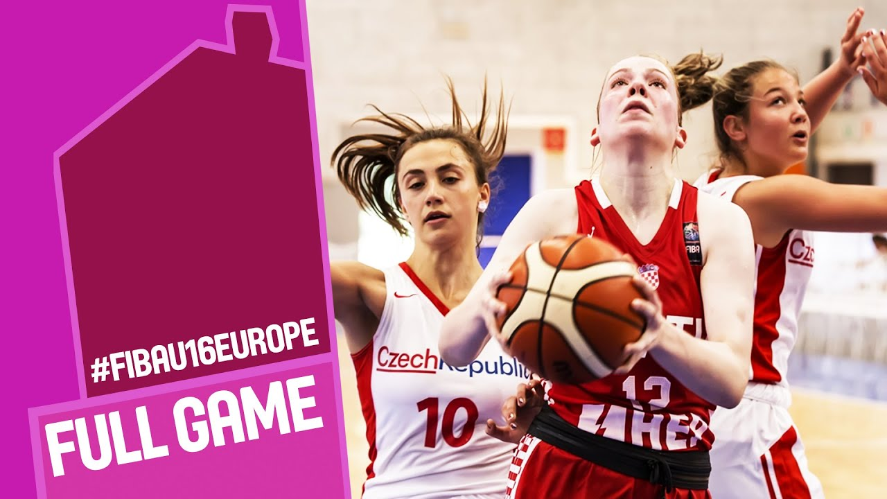 Czech Republic v Croatia - Full Game - CL 5-8 - FIBA U16 Women's European Championship 2016