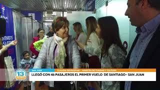 Primer vuelo a Chile: 'Es impresionante llegar en una hora a San Juan'