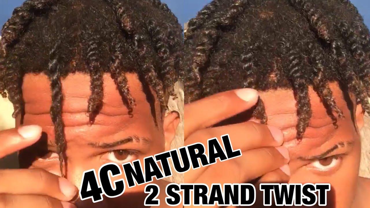 4c natural hair twostrand twist outtutorial - 1280×720