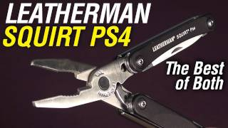 Leatherman Squirt PS4: The Do It All Mini-Multi-Tool