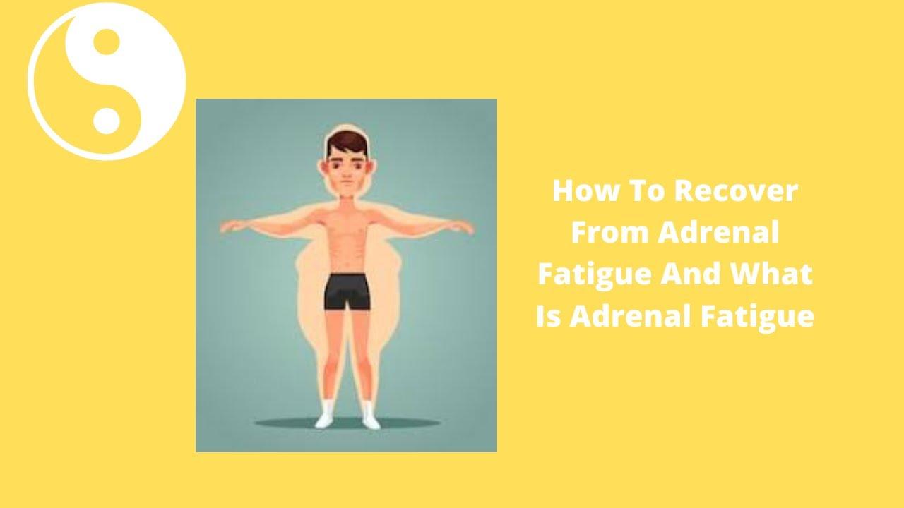 heal adrenals fast