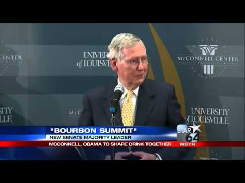 Senator McConnell wants to share some KY bourbon with President Obama