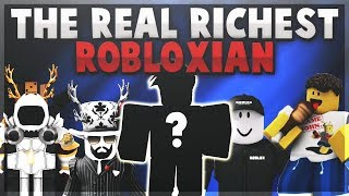 The REAL Richest ROBLOX Player! (DEBUNKED + COMPARISON) - Linkmon99 ROBLOX