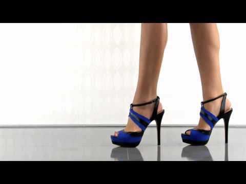 Eman in Cobalt Blue Suede Jessica Simpson