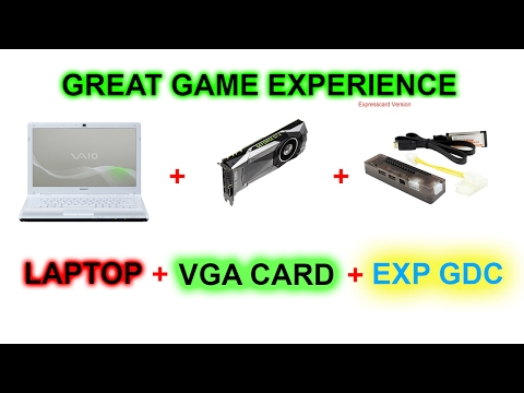 UNBOXING EXP GDC V 8.4d Laptop External Video Card with Express Card [1]