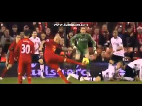 Martin Skrtel Goal - Liverpool Vs. Fulham - 1 - 0